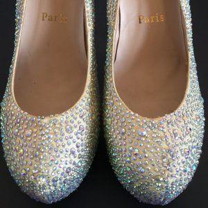 Christian Louboutin Daffodile Crystal Heels